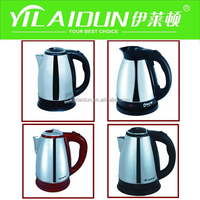 High Quality Stainless Steel Luxury Portable 1.8 Liter Water Kettle Electric
