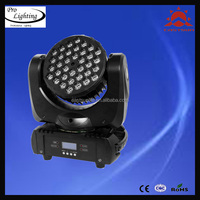 EastSun New Style LED Auto Driving Lamp moving head light beam/sharpy 36pcs*3w RGBW led beam moving head light/led wash light