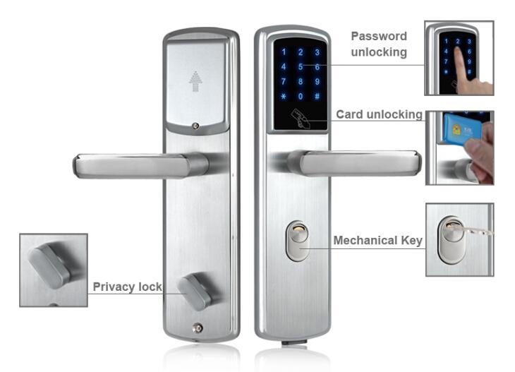 Электронный ключ двери замок