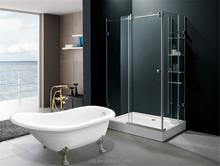 classic acrylic bathtub with feet