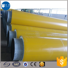 DN300mm API5L carbon steel pipe with polyurethane foam material used for green community pipeline system