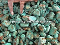 turquoise semi precious rough cut stone
