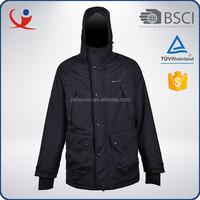 Cheap luxury brand windproof nylon polyester men sample winter jacket