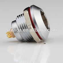 Receptáculo de rusia de huevo 0k 4 pin impermeable ip68 push-pull conector hembra