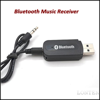 Bluetooth receiver adapter USB Bluetooth Stereo Audio Music Receiver Adapter For IPhone/Ipad/Ipod/Andriod PC Speaker