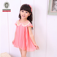 Kids dresses 2012 pure color sexy baby girl dress lingerie