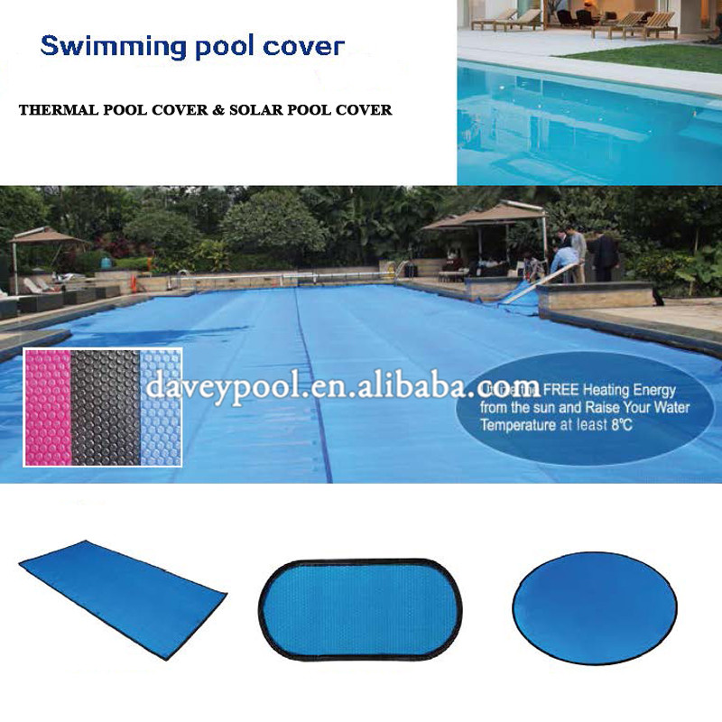 Custom Size Plastic Blue Swimming Pool Bubble Cover Thermal Pool Cover Solar Pool Covers Buy