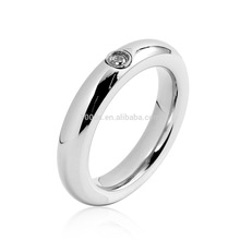 la moda de la joyería clásica para 2014 re01016 de alta calidad clásico anillo de acero inoxidable con diamantes de imitación