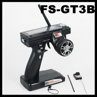 Flysky FS-GT3B GT3B 2.4G 3CH Gun RC System Transmitter with Receiver For RC Car Boat with LED Screen