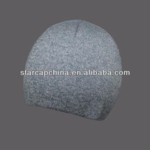 Carácter nuevo en blanco COLOR de la mezcla de la gorrita tejida sombreros de venta al por mayor