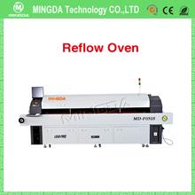 Prezzo economico forno saldatura reflow macchina/macchina di saldatura reflow con 10 riscaldamento zone