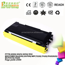 Compatible Toner for Printers Alibaba Toner Cartridge Supplier FOR USE IN BROTHER HL2040/2070N/MFC722 (PTTN-2000/2025/2050/350)