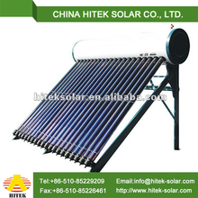 Pressurized heat pipe tube solar water heater price