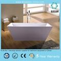 hermoso diseño de plástico bañera portátil para adultos