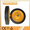wheel barrow solid rubber wheel 13x3