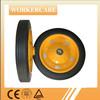 wheel barrow solid rubber wheel 13x3