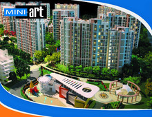 Wenzhou Real Estate Residential Community miniature house model