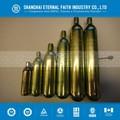 25.6 mm diámetro exterior, Pequeño cilindro de co2, Co2 cartucho de gas con de baja presión y material de acero