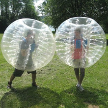 Factory direct sale human bumper ball / human soccer bubble ball / inflatable ball