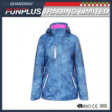 Lastest casual adult anti-static winter jacket for ladies