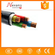 Copper conductor PVC insulated and sheathed copper wire screened control cable 1000 Meters