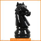 Decorativa attractive gigante de fibra de vidro 3d jogo de xadrez