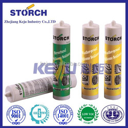 Neutral cure Fire-proof silicone sealant for coated metals, roof and aluminum composite panel