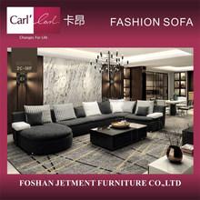 Attractive Comfortable Fashion fabric sofa 1C-18B