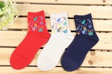 Adult Thick Angora Christmas Funny Novelty Boot Socks
