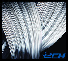Pure silver wires for electrical contact rivet