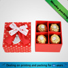 valentine gift paper box for chocolate packaging