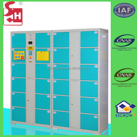 Automatic barcode storage cabinet