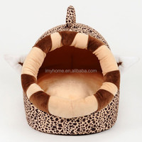 New arrival Giraffe Soft pet beds plush house for pets