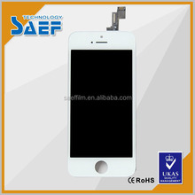 White mobile phone lcd display touch screen for iphone 5