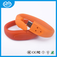 Gifts items products for promotion silicon wristband bracelet usb pen drive business gift