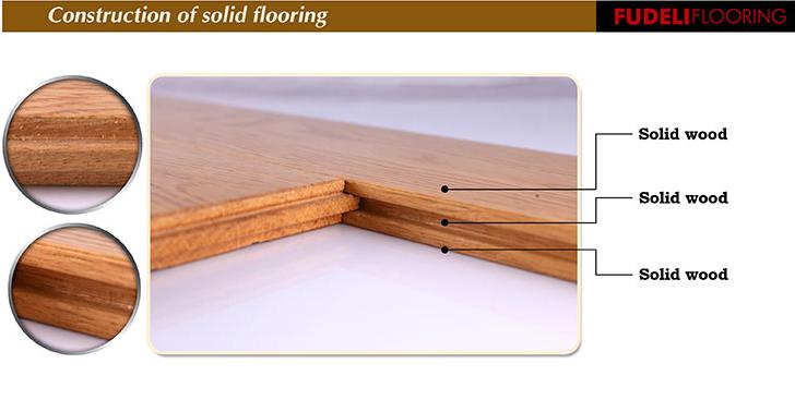 좋은 품질 클래식 디자인 오크 단단한 나무 바닥-목재 바닥재 ...
