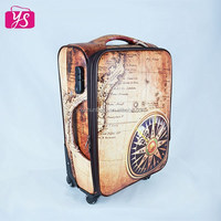 2015 PU leather high quality luggage for sale
