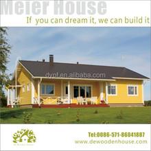 cheap prefab wooden house DY-D-054
