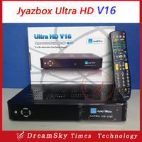 Jyazbox Ultra HD V16 FTA Digital Satellite TV Receiver With turbo 8psk JB200 and Wifi adapter Jyazbox V16 for North America