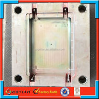 replacement fluorescent round light cover plastic mold maker