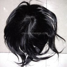 Homeage cheap short lace front wig black man wigs