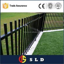 Galvanized garden fence decorative metal garden fence with ISO9001