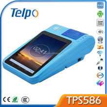 Telpo New Product TPS 586 3G Tablet Restaurant Laptop Screen Android Pos Terminal with Rfid Reader Bluetooth
