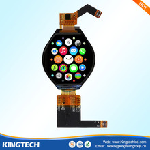 1.3 inch MIPI DSI interface ips capacitive multi round watch lcd touch screen