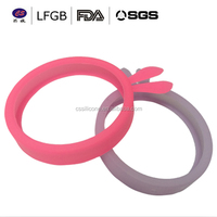 Lovely Hot sall cell phones accessories silicone ring case / Wrist Ring Case / Silicone Bumper Case