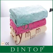 custom microfiber towel bed sheet