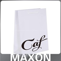 China factory supply Fashionable Recycle Personalized Paper Bag White