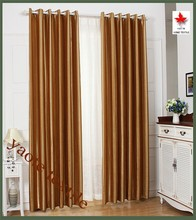 pure color classic style blackout curtain for living room