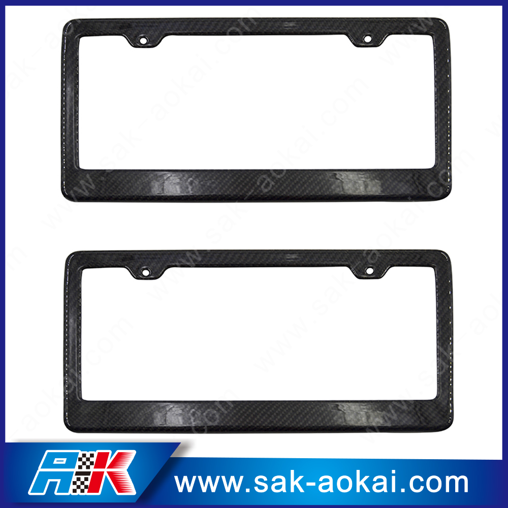 Standard Car Metal Personalized License Plate Frames