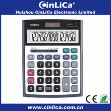 metal cover calculator big desktop calculator with tax and check function